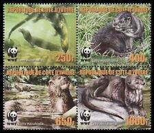 Mint Never Hinged/MNH Ivorian Stamp Blocks