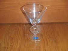 Cristal De Sevres Glas Kerzenhalter Serie Rumba Glass Claret Wine Glass ~ NEW