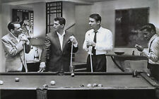 """Rat Pack - Playing pool Sinatra wall art picture framed 20""""x30"""""""