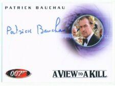 "Patrick BAUCHAU ""Autogrammkarte #A93"" James Bond in Motion"
