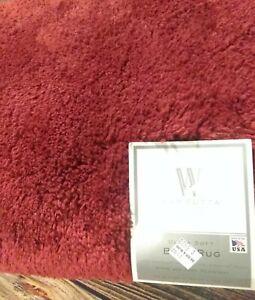 "Wamsutta Ultra Soft 24"" X 60"" Quality Bathrug Slip, Stain, Fade Resistant NWT!"