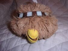 "Star Wars Angry Birds Chewbacca 4"" Plush Soft Toy Stuffed Animal"
