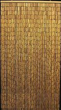 Natural Bamboo Room Divider Beaded Handmade Bamboo Curtain Beads Window Door