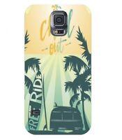Coque Galaxy S5 Summer chill surf tropical summer van