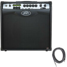 """Peavey Vypyr VIP 3 100W 1x12"""" Combo Guitar Bass Acoustic USB Out Amp +FREE Cable"""