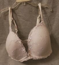 1a8cbef7bcbbd Ambrielle 36DD White Lace Floral Underwire Bra Excellent Condition