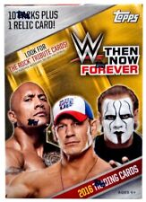 2016 Topps WWE Wrestling Then Now Forever 10ct Blaster 2-box Lot