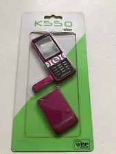 Sony Ericsson K550 Full Fascia Housing Cover Front Back Case Keypad Pink