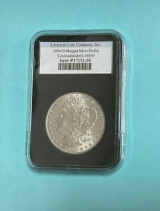 1898 O Morgan Silver Dollar US Coin - MS 60 ~ New Orleans ~ United States