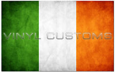 "5"" Irish Flag Decal Ireland Vinyl Sticker"