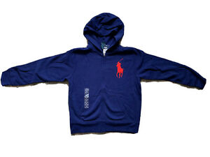 NEW Kids Boys Ralph Lauren Polo Big Pony Hoodie Sweatshirt size M(10-12)