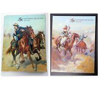 Scottsdale Art Auction Catalogs: April, 2009 & April, 2010 Western Art Paintings