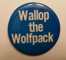 Penn State 1972 Wallop the Wolfpack Button/Pin Central Counties Bank