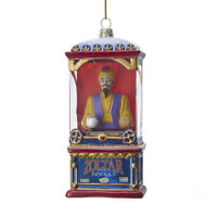Zoltar Speaks Fortune Teller Glass Christmas Tree Retro Vntg Decor Ornament