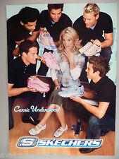 Carrie Underwood for Skechers Sneakers PRINT AD - 2005
