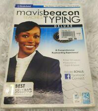 Mavis Beacon Teaches Typing Deluxe 25th Anniversary Edition NIB