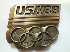 VINTAGE 1988 OLYMPICS BELT BUCKLE SEOUL MEN'S