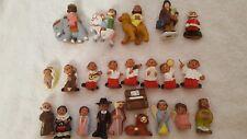 23 Ceramic Christmas Nativity Scene/Set/Display