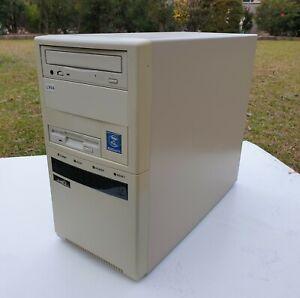 Vintage Retro Computer Pentium 100 Mini-Tower Case Refurbished