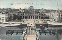 LE HAVRE - Le Pont du Commerce et la Bourse