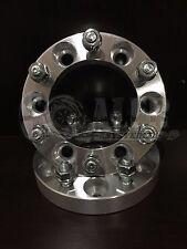 """2x 6x5.5 Wheel Spacers Adapters M12-1.5 studs 1"""" Thick 6 lug For Isuzu Amigo"""