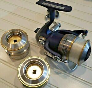 Team Daiwa Tierra 3000 spinning reel  ~~Ex~~ with 2 spare spools