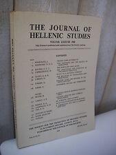 ARCHEOLOGIE / The journal of Hellenic studies 1968