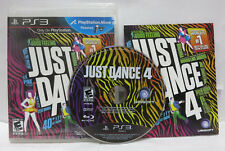 Just Dance 4 PS3 JustDance 4 Sony Playstation 3 Game Only Complete