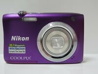 Nikon COOLPIX S2900 20.1 MP Digital Camera 5x Optical Zoom Japan FOR PARTS !!!