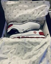 New listing NEW IN BOX - FootJoy Men's Pro/SL Golf Shoes, 9.5 M, White/Red/Navy