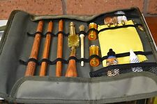 Shotgun Gun  Cleaning  Kit Hunting Shooting  Green Cordura Wallet 12g or 20g