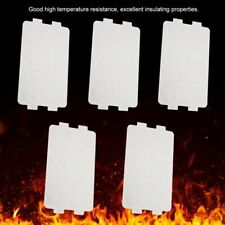 5pcs Microwave Oven Mica Plate Sheet Thick Replacement Part 116x64mm For Midea