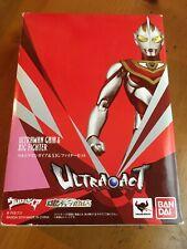 BANDAI ULTRA ACT Ultraman GAIA & XIG Fighter