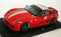 MR COLLECTION 1/18 - FE02RA FERRARI 599XX - USA #4 - RED