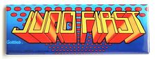 Juno First Marquee FRIDGE MAGNET (1.5 x 4.5 inches) arcade video game header