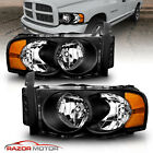 Replacement Headlights For 2002-2005 Dodge Ram 1500 2500 3500 Left Right