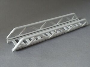 LEGO PART 11299 MEDIUM STONE GREY 16 x 3.5 LADDER WITH SIDE SUPPORTS x 1