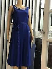 Haani coctail dress 1 Xl Blue With Ringtones Spandex New With Tags