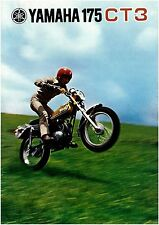 YAMAHA Brochure CT3 1973 Sales Catalog Catalogue REPRO Grass
