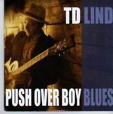(DE361) TD Lind, Push Over Boy Blues - 2011 DJ CD