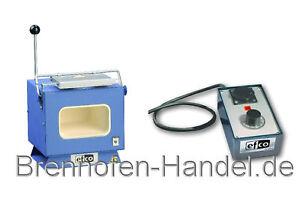 Brennofen Efco 110 mit Temperatursteuerung, 1000 °C, Emaille, emaillieren