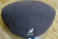 Kangol Dark Grey Wool 504 Ivy Cap Style 0258BC S 2186c1a7df38