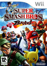 Mario: SUPER SMASH BROS BRAWL ~ Nintendo Wii (EN BUEN ESTADO)