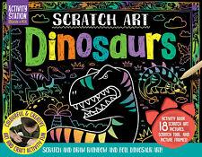 Scratch Art Dinosaurs Gift Set