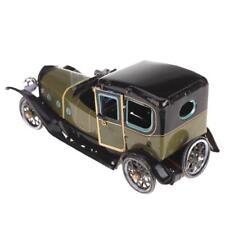 Wind up Tin toy Chauffer Driven Saloon Car Sedan Clockwork Collectibles Gift