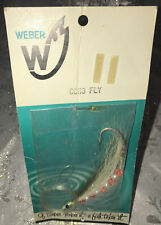 Vintage Weber Coho Fly Fishing Lure New On Card