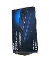 Belkin Screencast AV 4 Wireless AV-to-HDTV Adapter I/R Remote Home Video NEW NIB
