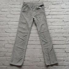 Vintage 70s Gap Pioneer Corduroy Boot Cut Pants Size 28 Grey Western 60s
