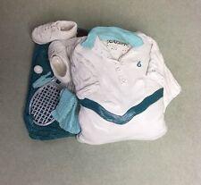 "Unique Ceramic Box Shaped Tennis Shirt with Racket Ball Shoes ""Giuseppi"""