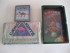 Camel Ashtray Matches Sealed Box And Tin ( Lot of 52 )